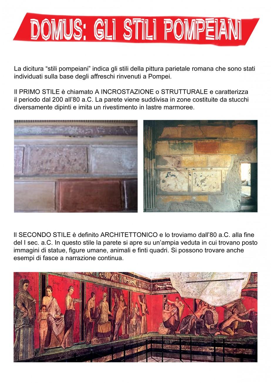 domus stili pompeiani 1