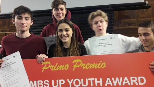 Thumbs Up Youth Award