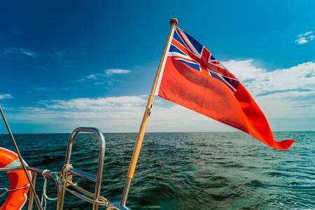 vela bandiera inglese