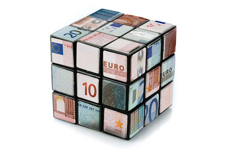 Banconote cubo
